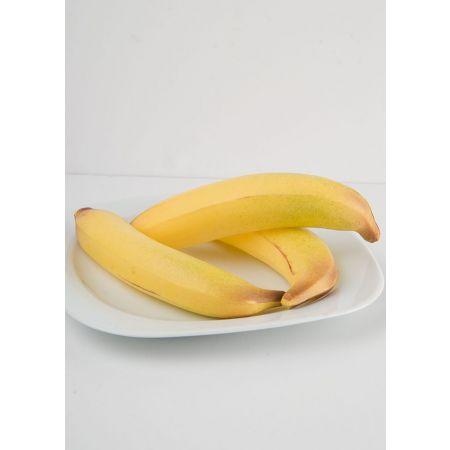 Σετ 3τχ Μικρές διακοσμητικές μπανάνες - απομίμηση 15x4cm