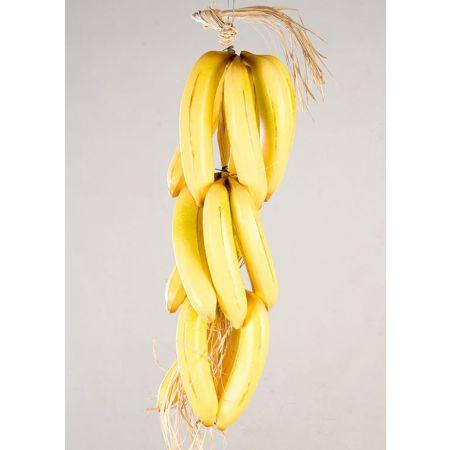 Διακοσμητική πλεξούδα με μπανάνες 60cm