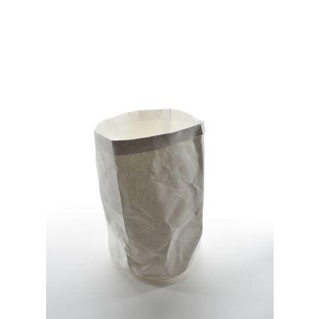 Χάρτινη γλάστρα αδιάβροχη Λευκή 32x20cm