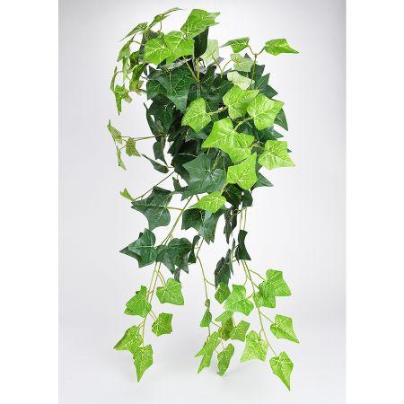 Τεχνητός κρεμαστός κισσός Πράσινος 80cm