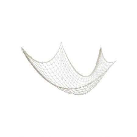Διακοσμητικό δίχτυ ψαρέματος χοντρό Μπεζ 120x250cm