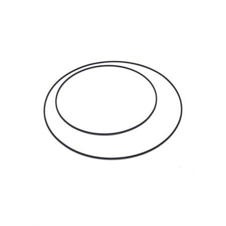 Διακοσμητικός Κρίκος Μαύρος 80cm