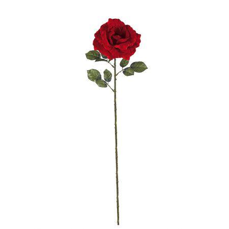 XXL Διακοσμητικό υφασμάτινο τριαντάφυλλο 120cm (Ύψος)