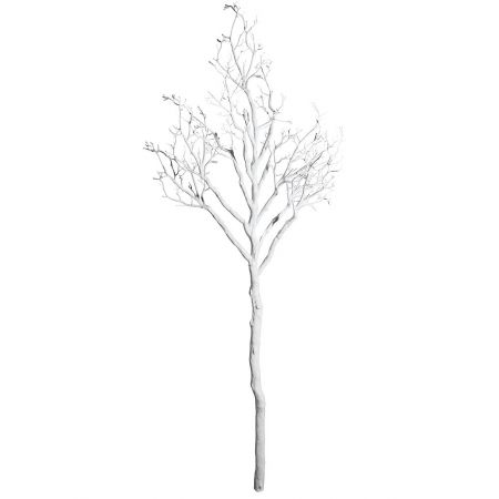 Διακοσμητικό τεχνητό κλαδί Λευκό 180x77cm