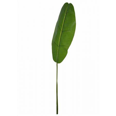 Διακοσμητικό φύλλο Μπανανιάς real touch Πράσινο 130cm