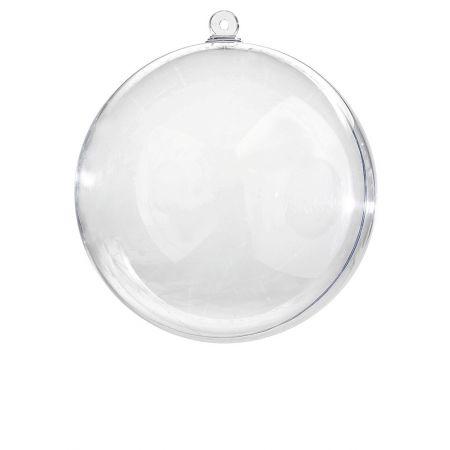 Διακοσμητική μπάλα Διάφανη - φυσαλίδα 30cm