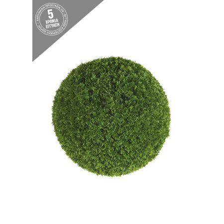 Διακοσμητική τεχνητή μπάλα λεμονοκυπάρισσο 38cm