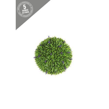 Διακοσμητική τεχνητή μπάλα - Λεβάντα 18cm