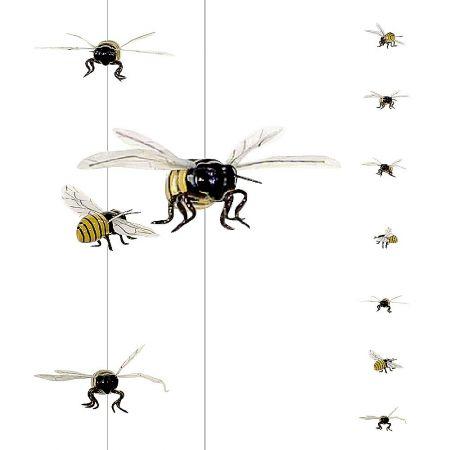 Διακοσμητική γιρλάντα με μέλισσες, 250cm