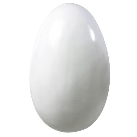 XL Πασχαλινό αυγό Λευκό 50cm