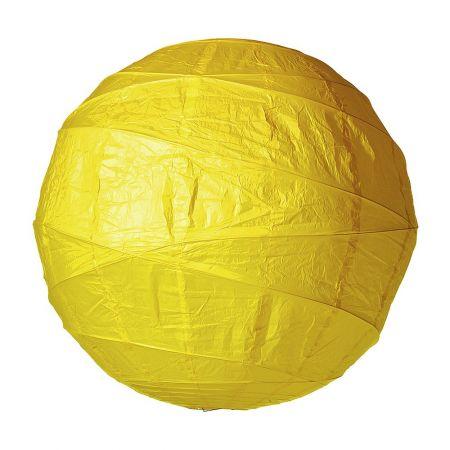 Διακοσμητικό μπαλόνι - φανάρι κίτρινο, 120cm