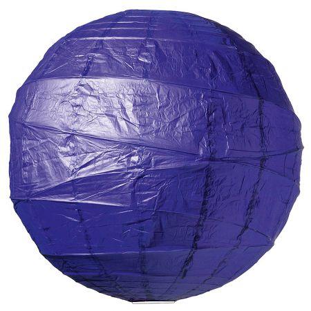 Διακοσμητικό μπαλόνι - φανάρι μπλέ, 90cm