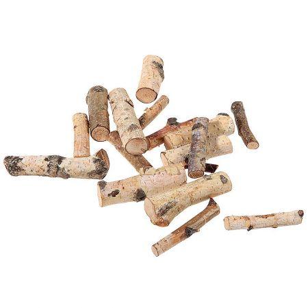 Σετ 16τχ Διακοσμητικά κομμάτια ξύλου 6-9cm