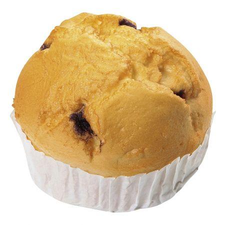 HQ Διακοσμητικό muffin βανίλια - βατόμουρο απομίμηση 6x7cm
