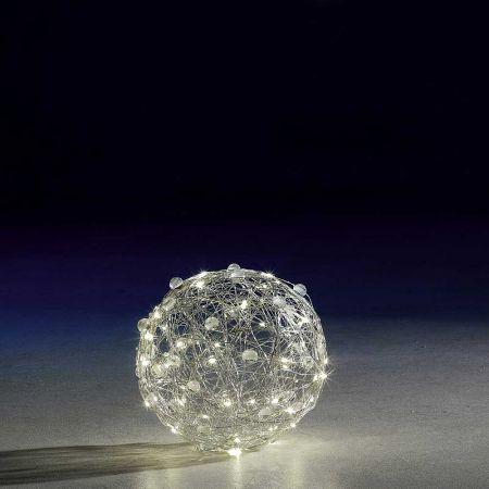 Φωτιζόμενη μπάλα 300LED IP44 25cm