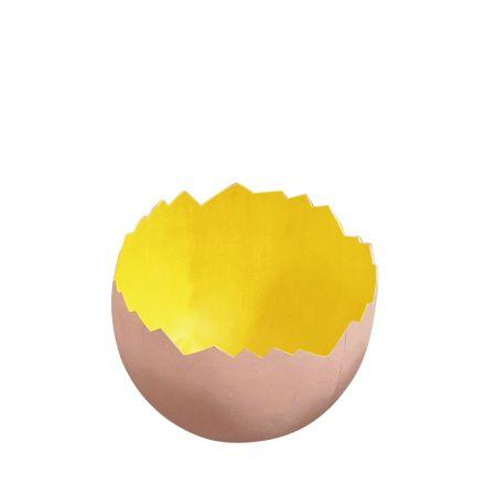Σπασμένο πασχαλινό αυγό Κίτρινο 22x18cm