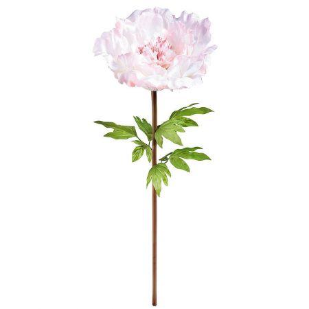XL Διακοσμητικό λουλούδι παιώνια Ροζ 128cm
