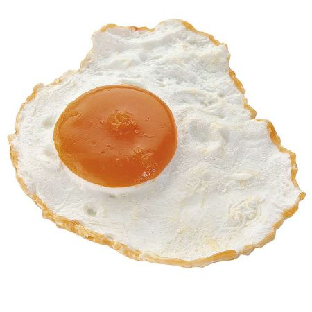 HQ Διακοσμητικό τηγανητό αυγό - απομίμηση  9x11cm