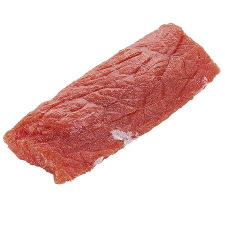 HQ Διακοσμητικό ωμό κομμάτι κρέας βοδινού απομίμηση 5x15cm