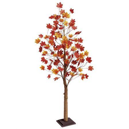 Διακοσμητικό τεχνητό δέντρο Φθινοπωρινό Σφένδαμος 160cm