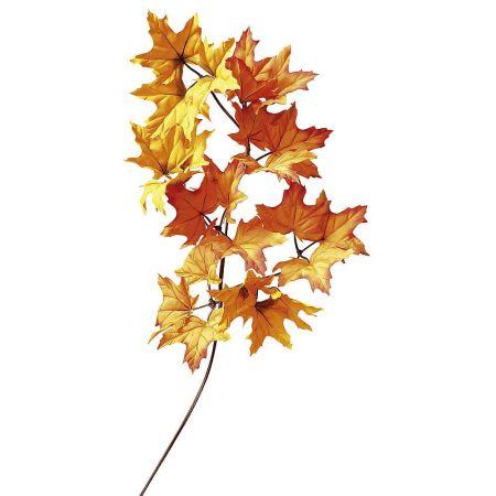 Διακοσμητικό Φθινοπωρινό κλαδί Σφένδαμου , 80cm