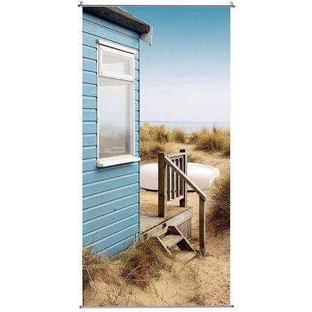 Διακοσμητική αφίσα με σπίτι στη θάλασσα 100x200cm