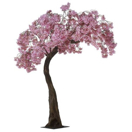 Τεχνητό δέντρο Κερασιά με Ροζ άνθη 200cm