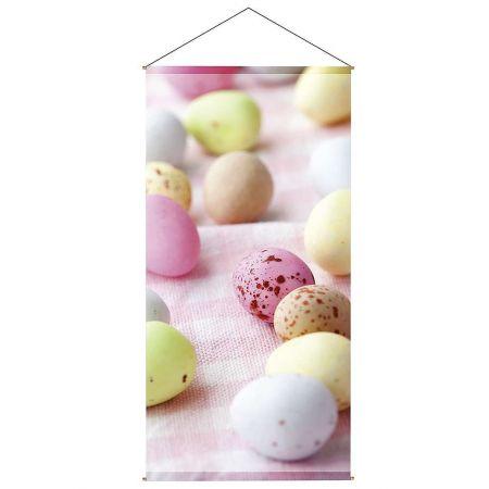 Διακοσμητική αφίσα με παστέλ αυγά 100x200cm