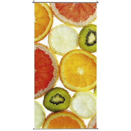 Διακοσμητική αφίσα από ύφασμα με φρούτα 100x200cm