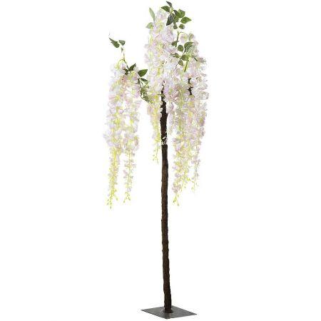 Τεχνητό δέντρο Γλυκίνη με Ροζ άνθη 135cm