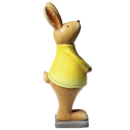 Πασχαλινό κεραμικό Λαγουδάκι Κίτρινο 53cm