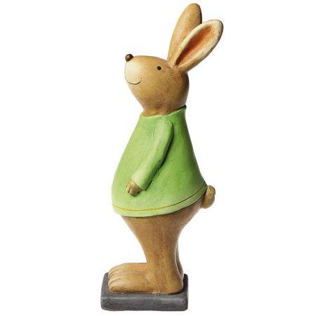Πασχαλινό κεραμικό Λαγουδάκι Πράσινο 42cm