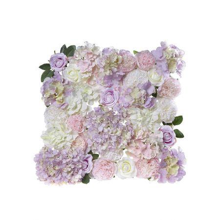 Διακοσμητικό πάνελ με Ροζ άνθη 40x40cm