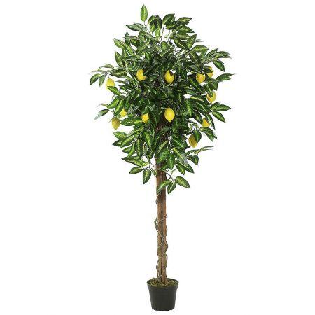 Διακοσμητικό τεχνητό δέντρο Λεμονιά σε γλάστρα 180cm