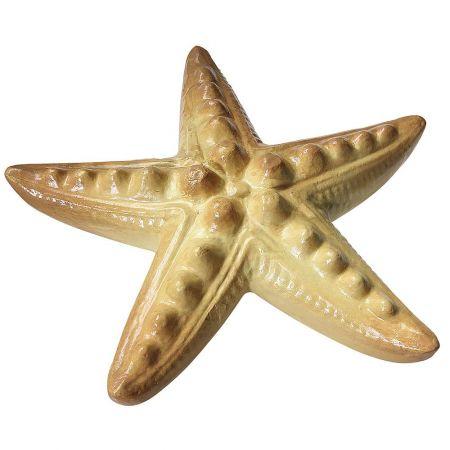 Διακοσμητικός αστερίας Μπεζ - Καφέ 40cm