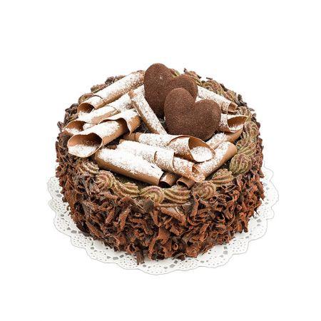 HQ Διακοσμητική τούρτα σοκολάτα 15x10cm