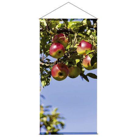 Αφίσα - banner με μήλα 200x100cm