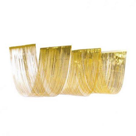 Κουρτίνα κύμα χρυσή, 50x450cm