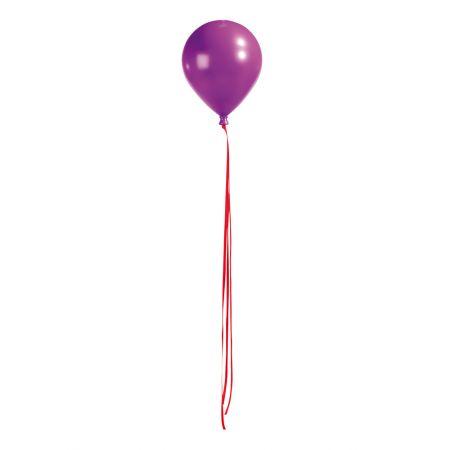 Διακοσμητικό μπαλόνι μωβ, 20cm