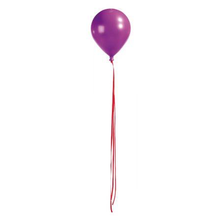 Διακοσμητικό μπαλόνi μωβ 25,5cm