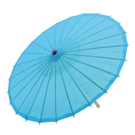 Διακοσμητική ομπρέλα μπλέ 80cm