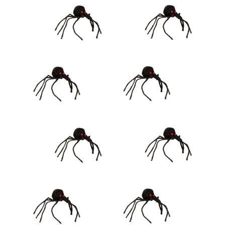 Σετ 12τχ μίνι αράχνες 11cm