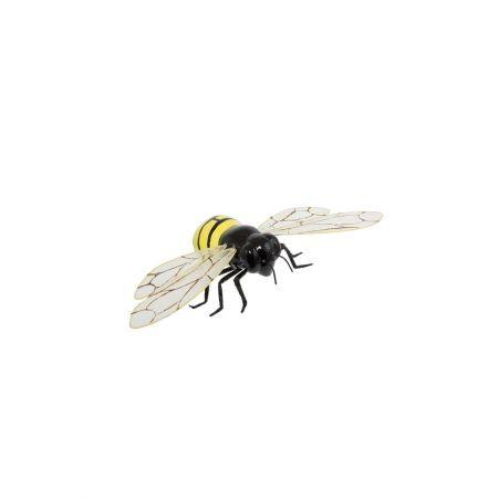 Διακοσμητική μέλισσα πλαστική, 12x6cm
