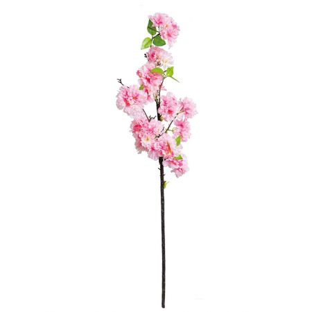 Διακοσμητικό κλαδί με άνθη κερασιάς Ροζ 100cm
