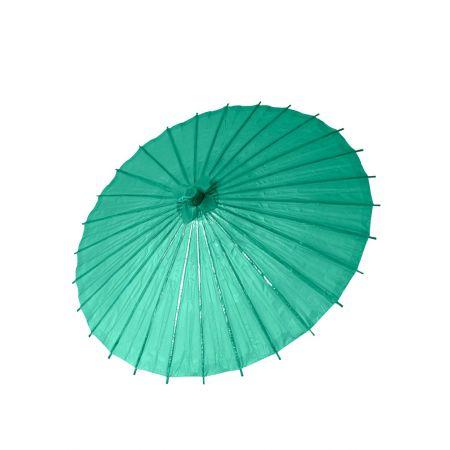 Διακοσμητική ομπρέλα Χάρτινη Τυρκουάζ, 86cm