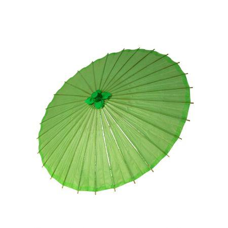 Διακοσμητική ομπρέλα Χάρτινη Πράσινη, 86cm