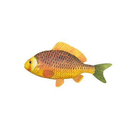Διακοσμητικό ψάρι βιτρίνας Κίτρινο 30cm