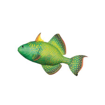 Διακοσμητικό ψάρι βιτρίνας Πράσινο 30cm