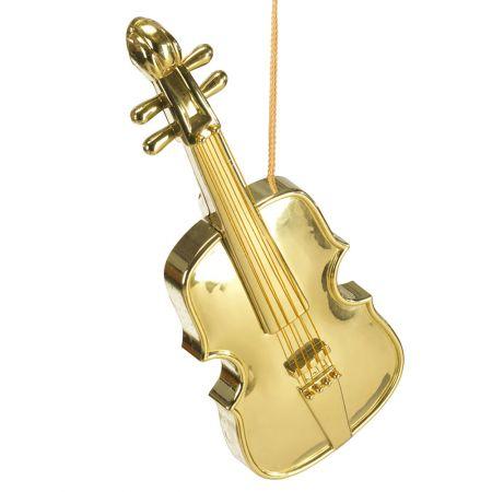 Διακοσμητικό βιολί χρυσό 48cm