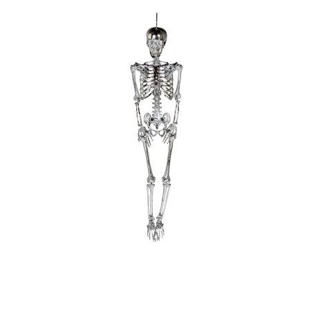 Διακοσμητικός σκελετός Ασημί 90cm